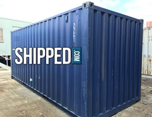 20FT USED Cargo Worthy Steel Shipping Container in CA – Secure Water Tight Home or Business Storage
