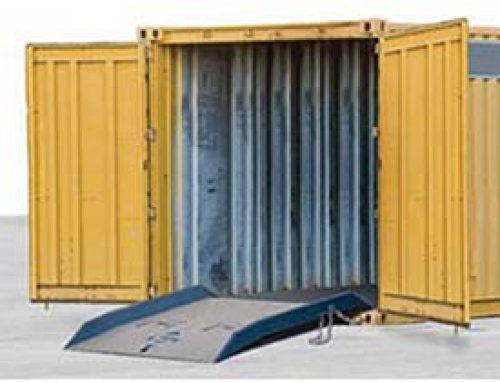 Bluff Steel Shipping Container Ramp – 72X72″