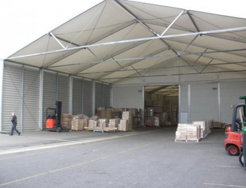 Temporary Buildings for Transportation and Service